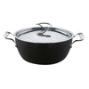 Circulon Style deep casserole dish with lid. Perfect for entertaining, family favourites & batch cooking