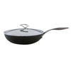 Circulon Style Wok with lid. Stay cool handles on lid give a stylish hob-to-table design