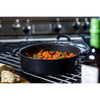 24cm anodized casserole dish is perfect for hob to oven cooking