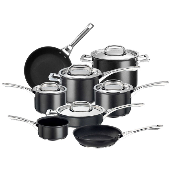 Infinite 8 piece pan set from Circulon. The only pan set you'll ever need!