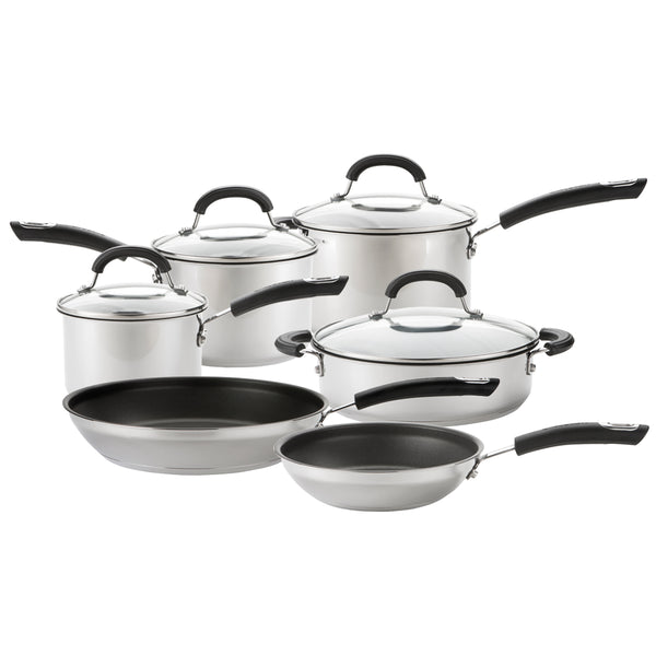 Total Stainless Steel 6 Piece Pan Set