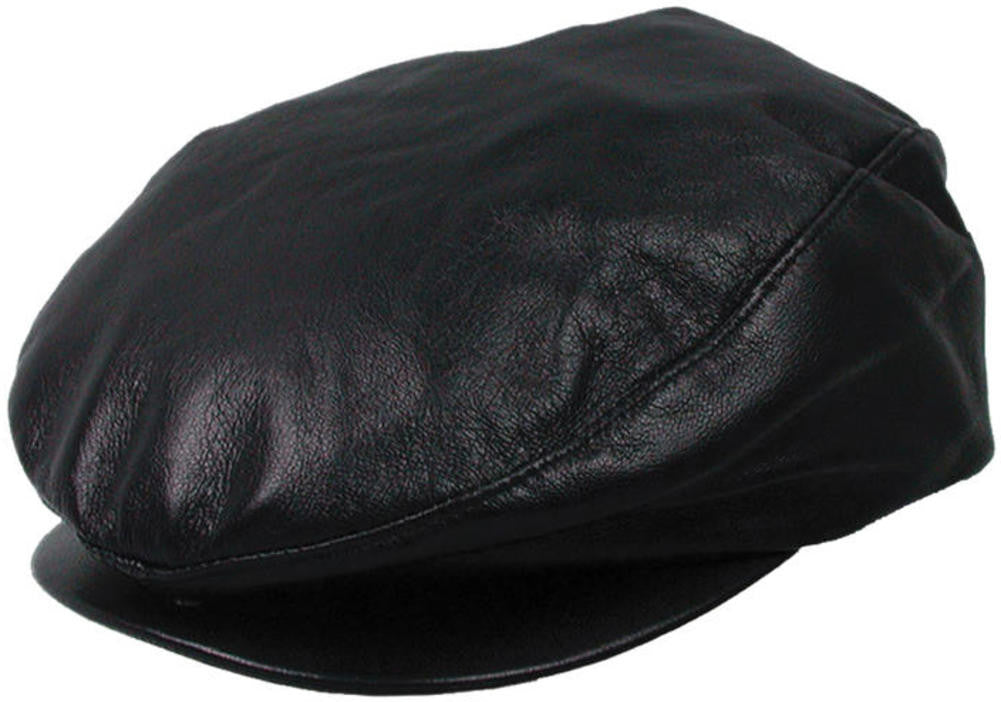 Dobbs Princeton Leather Ivy Cap