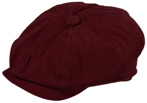 "Broner ""Mo' Money"" Cotton Newsboy Cap"