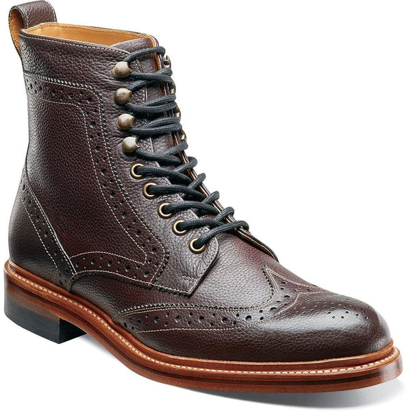 Madison II Wing Tip Boot by Stacy Adams OXBLOOD / 7, Shoes - STACYADAMS, Levine Hat Co. - 1