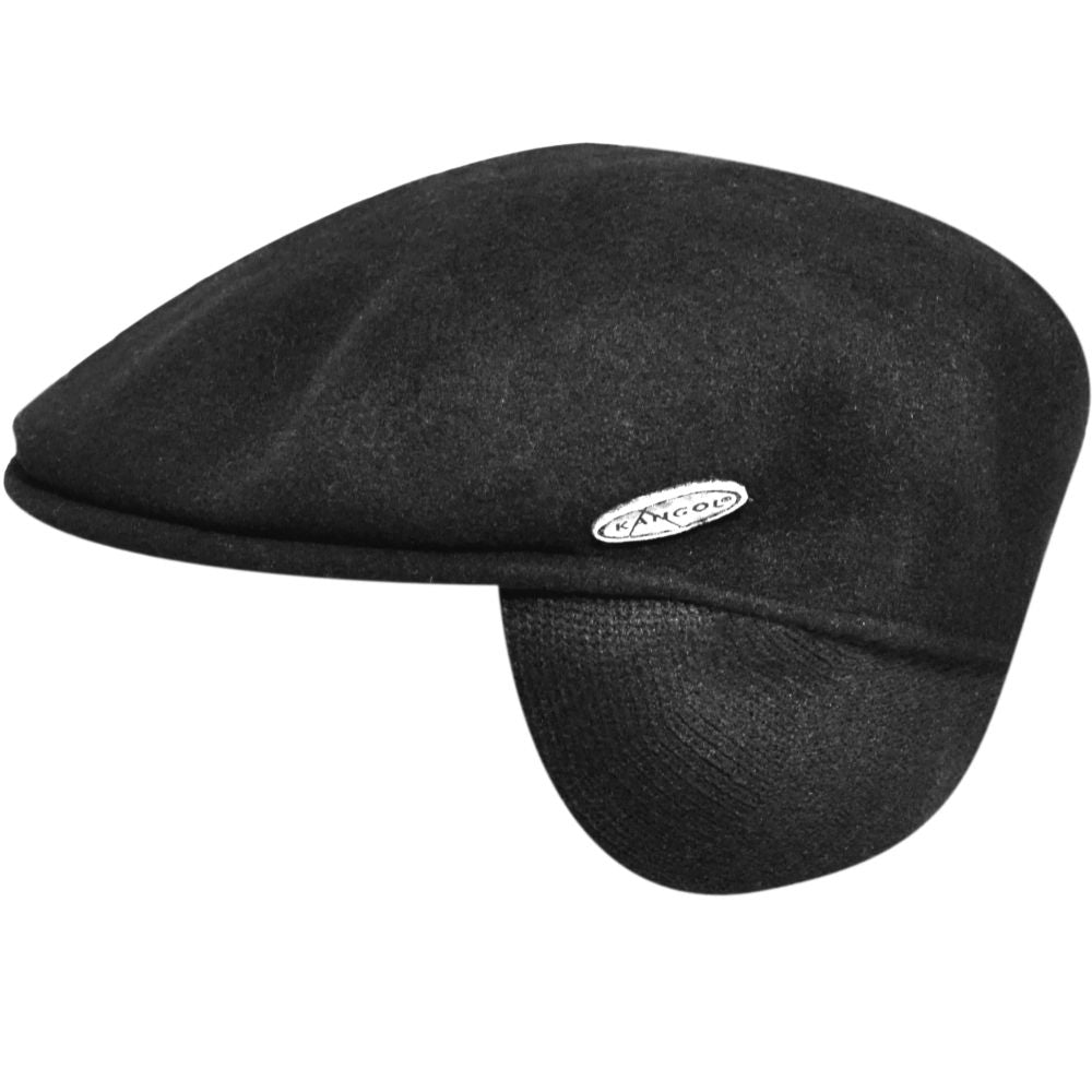 Wool 504 Cap with Ear Flaps by Kangol – Levine Hat Co. 117efaf0d72