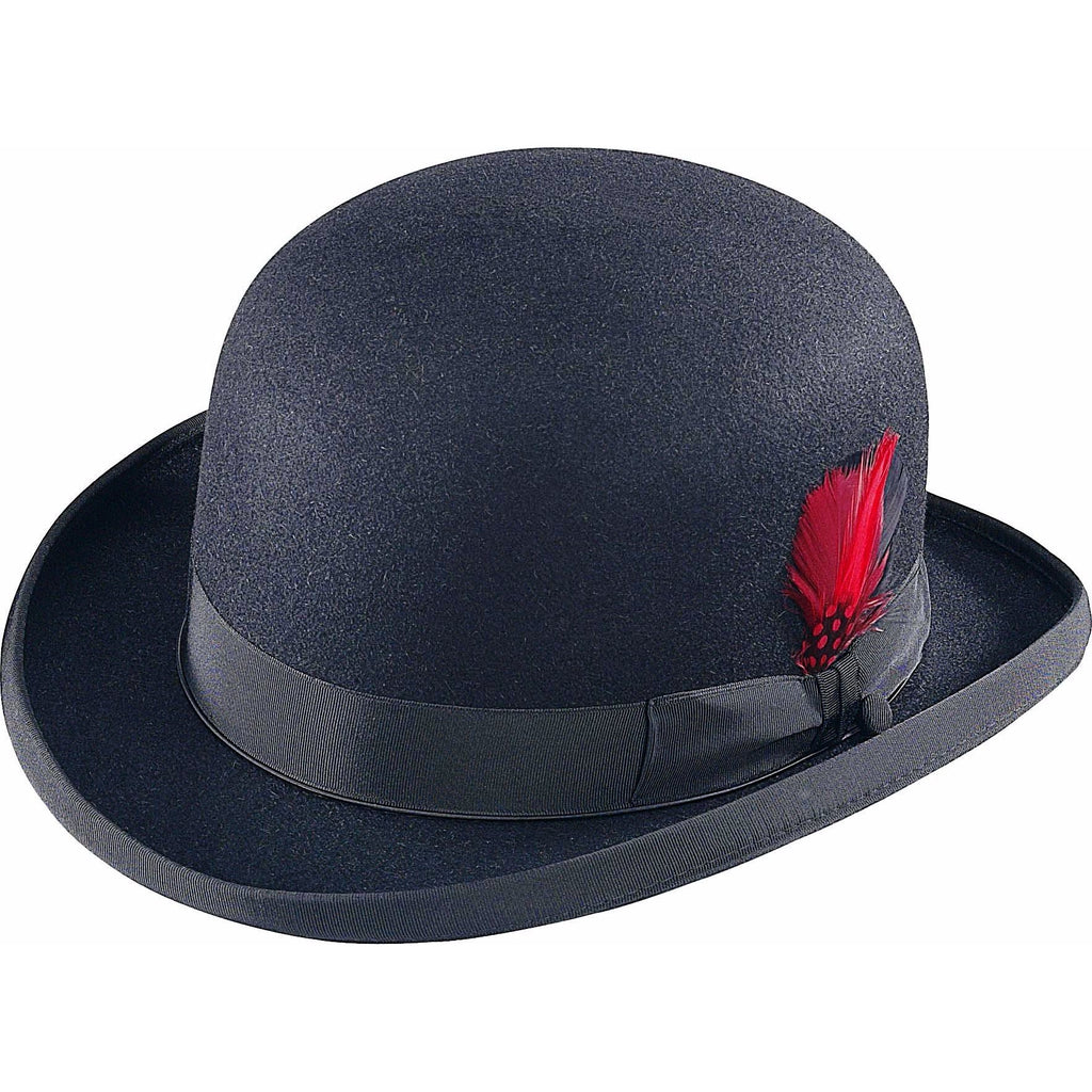 Selentino Fur Felt Derby BLACK / 6 7/8, Hats - SELENTINO, Levine Hat Co.