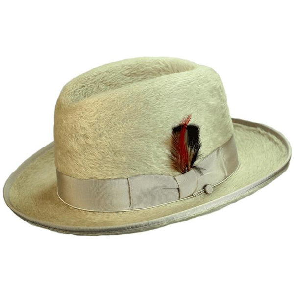 b1a12c6a6e23 Alpha Long Hair Beaver Godfather by Selentino – Levine Hat Co.