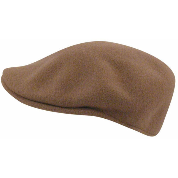 Kangol Wool 504 Pocket Cap CAMEL / S, Hats - KANGOL, Levine Hat Co. - 1