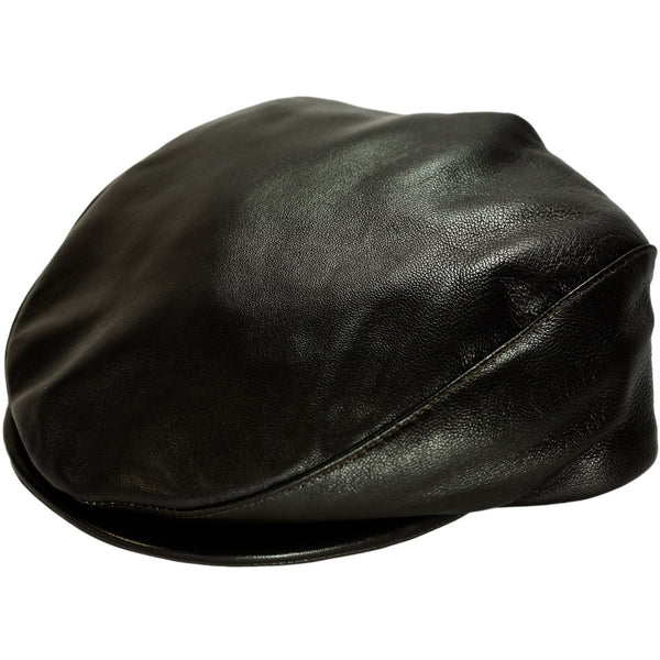 "Dobbs ""Princeton"" Leather Ivy Cap"