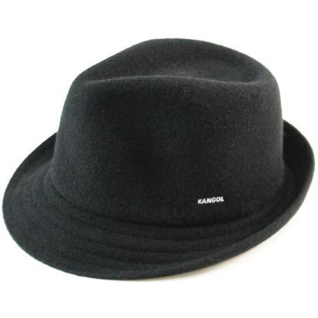 Kangol Wool Arnold BLACK / L, Hats - KANGOL, Levine Hat Co.