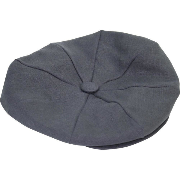 Wellington Linen Newsboy Cap by Dobbs 153b9222583