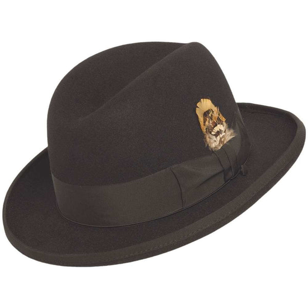Selentino Smooth Fur Felt Homburg