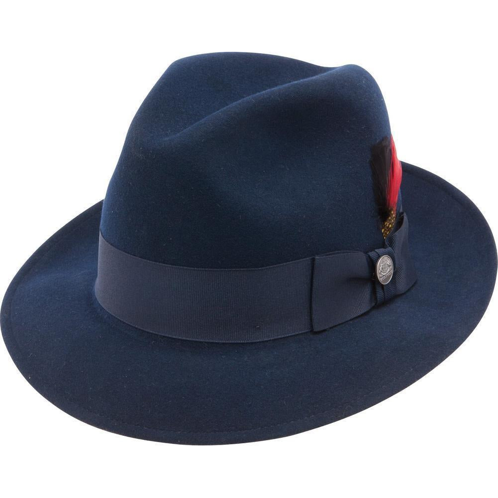 Frederick II Wool Fedora by Stetson – Levine Hat Co. 75277d87a17c