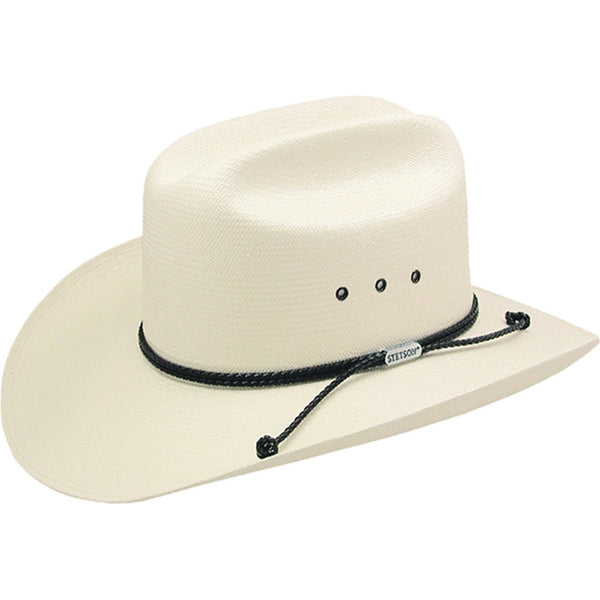 Stetson Carson (straw) NATURAL / 7 1/8, Hats - STETSON, Levine Hat Co.