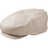Broner Linen Big Apple Cap OATMEAL / ONE SIZE, Hats - BRONER, Levine Hat Co. - 1