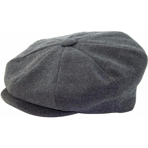 Broner Wool Big Apple CHARCOAL / ONE SIZE, Hats - BRONER, Levine Hat Co. - 2