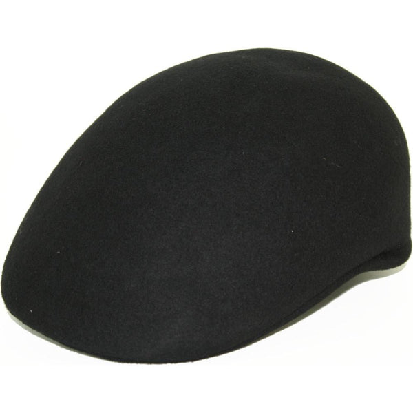Stefeno Wool Felt Dome BLACK / S, Hats - STEFENO, Levine Hat Co. - 1
