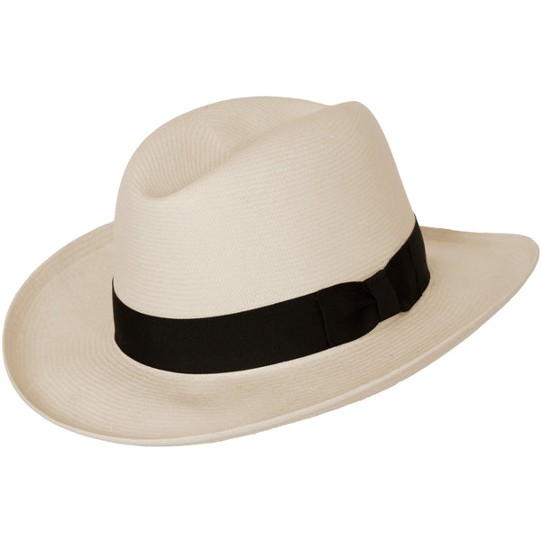 Dixon Shantung Panama Homburg by Levine Hat Co.