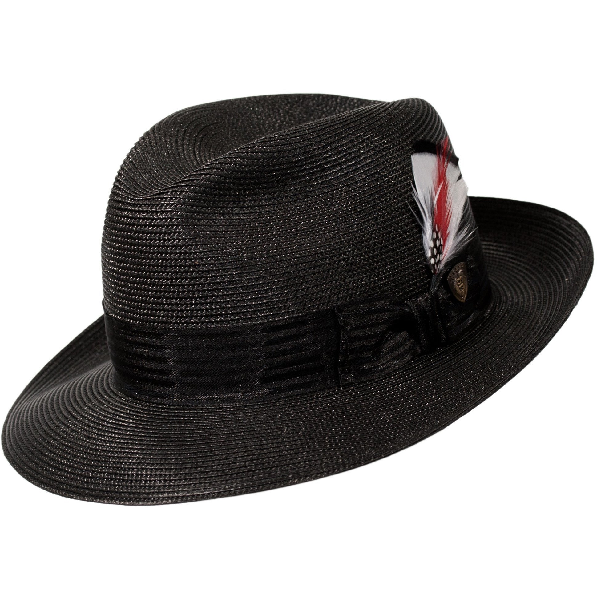 Harrod Milan Straw Fedora by Stetson – Levine Hat Co. 466bd8c9dfc