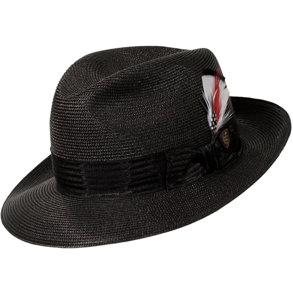 Harrod Milan Straw Fedora by Dobbs