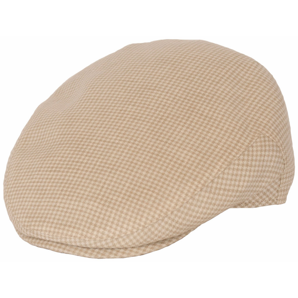 Lupo Italian Linen & Cotton Ivy Cap by Levine Hat Co.