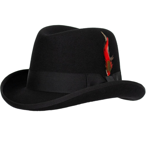019c7300a9d Charles Wool Homburg Godfather by 9th Street Hats
