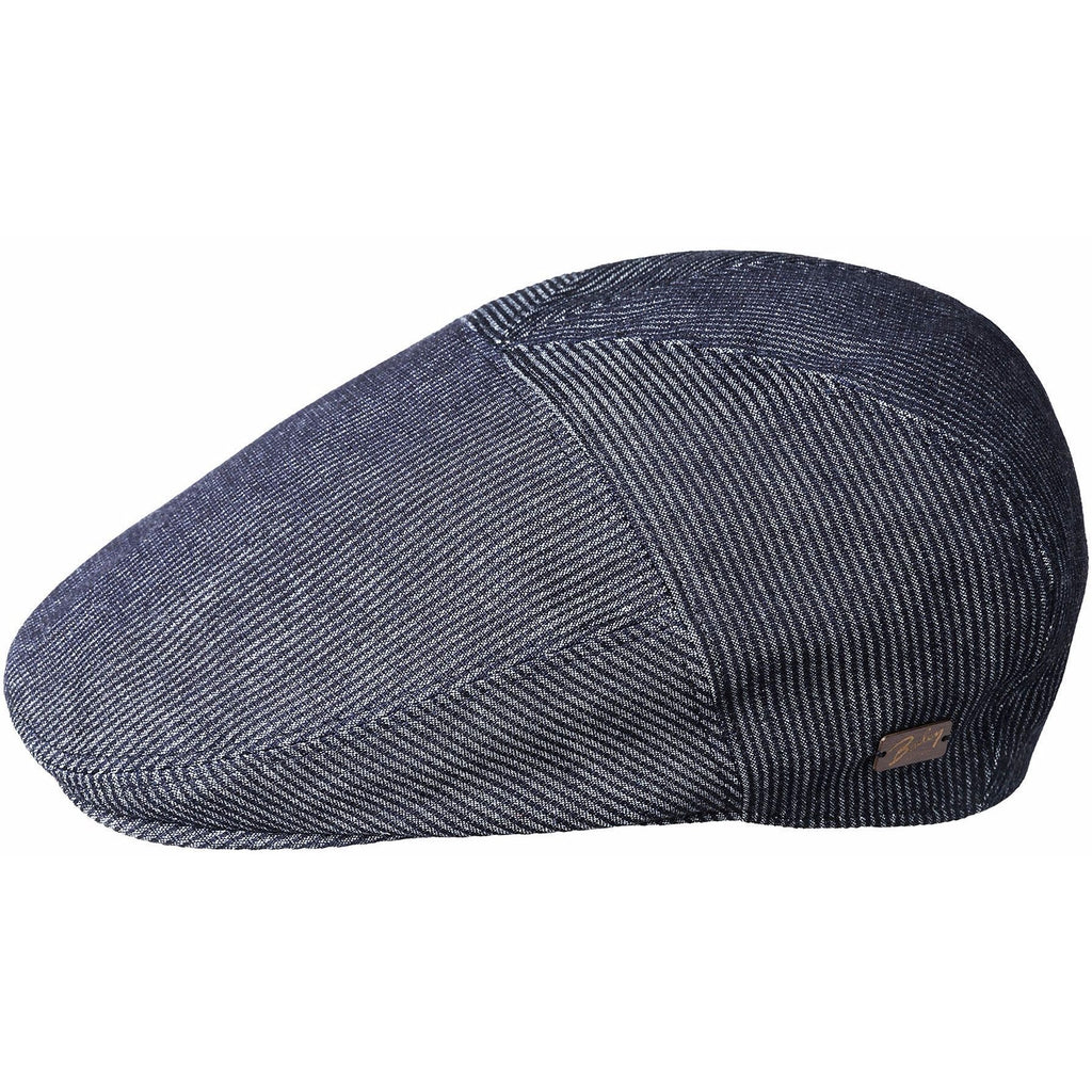 Koser Denim Stripe 5 Panel Ivy Cap by Bailey