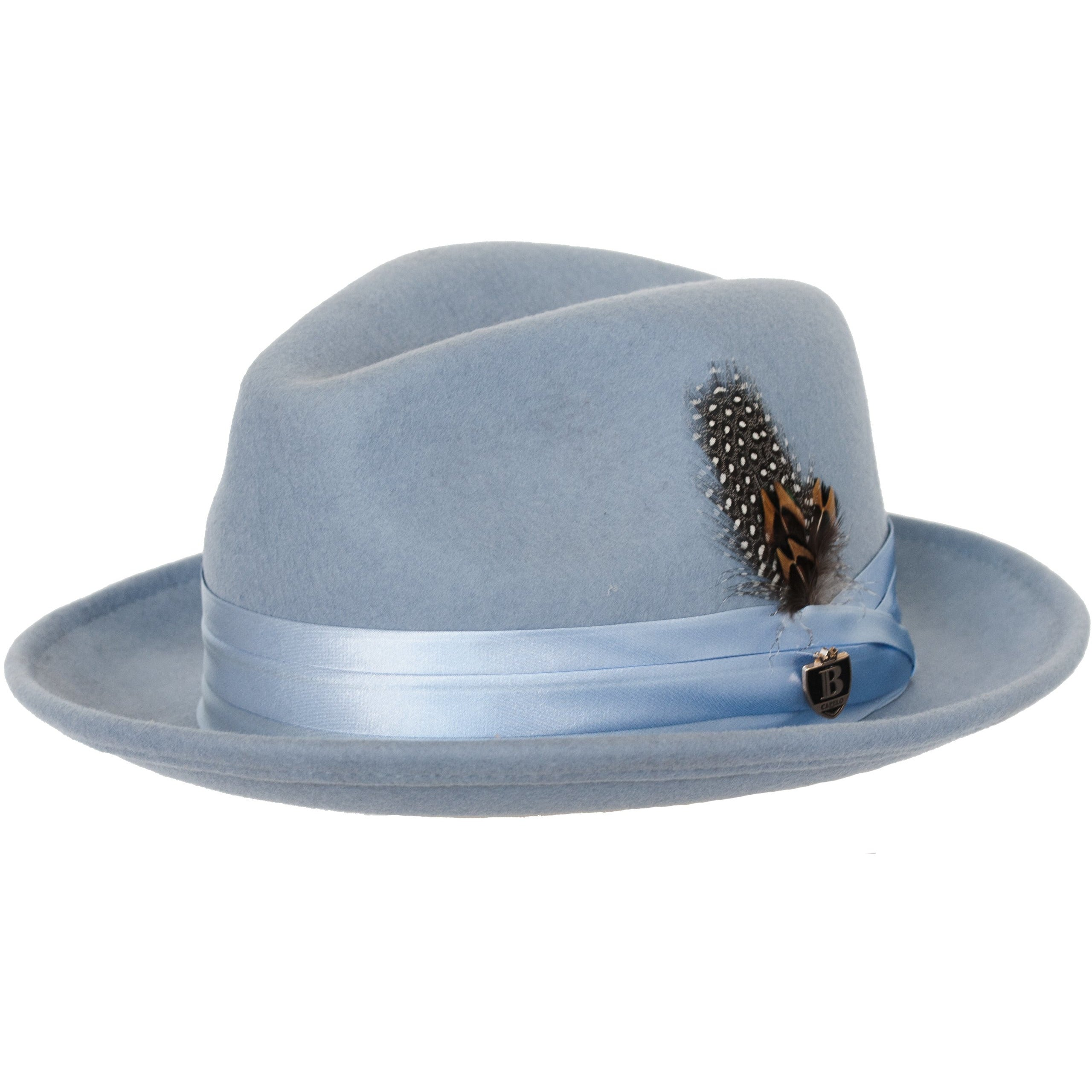 083161afc0e1b Untouchable Wool Fedora with Satin Hat Band by Bruno Capelo – Levine ...