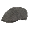 Georgie Wool Herringbone Newsboy Cap by Broner