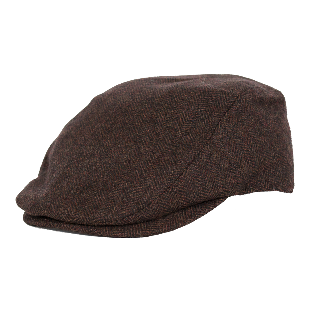 Hendrick Wool Tweed Ivy Cap by Broner