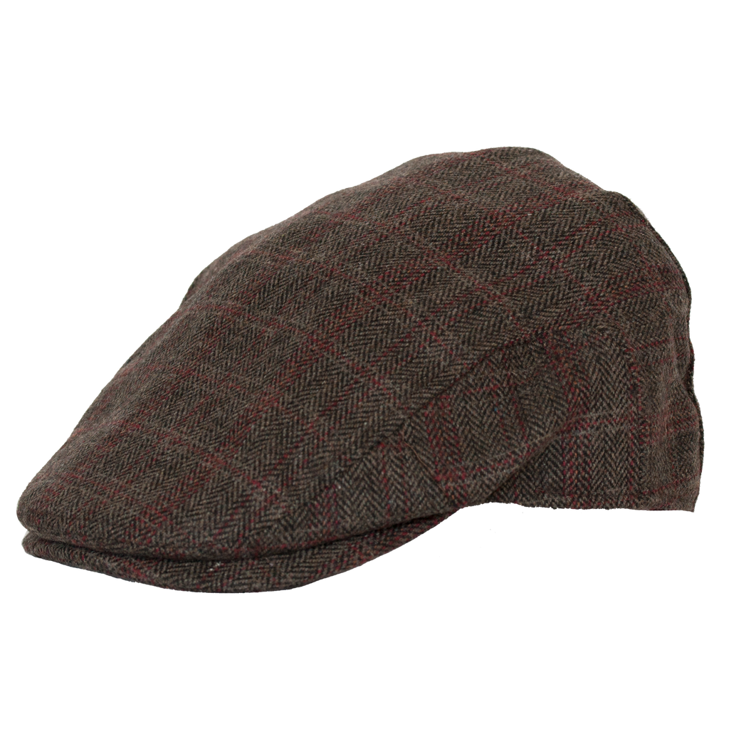 Aberdeen Plaid Wool Ivy Cap by Broner
