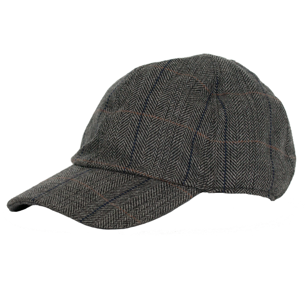 Fox Trail Tweed Baseball Cap by Broner