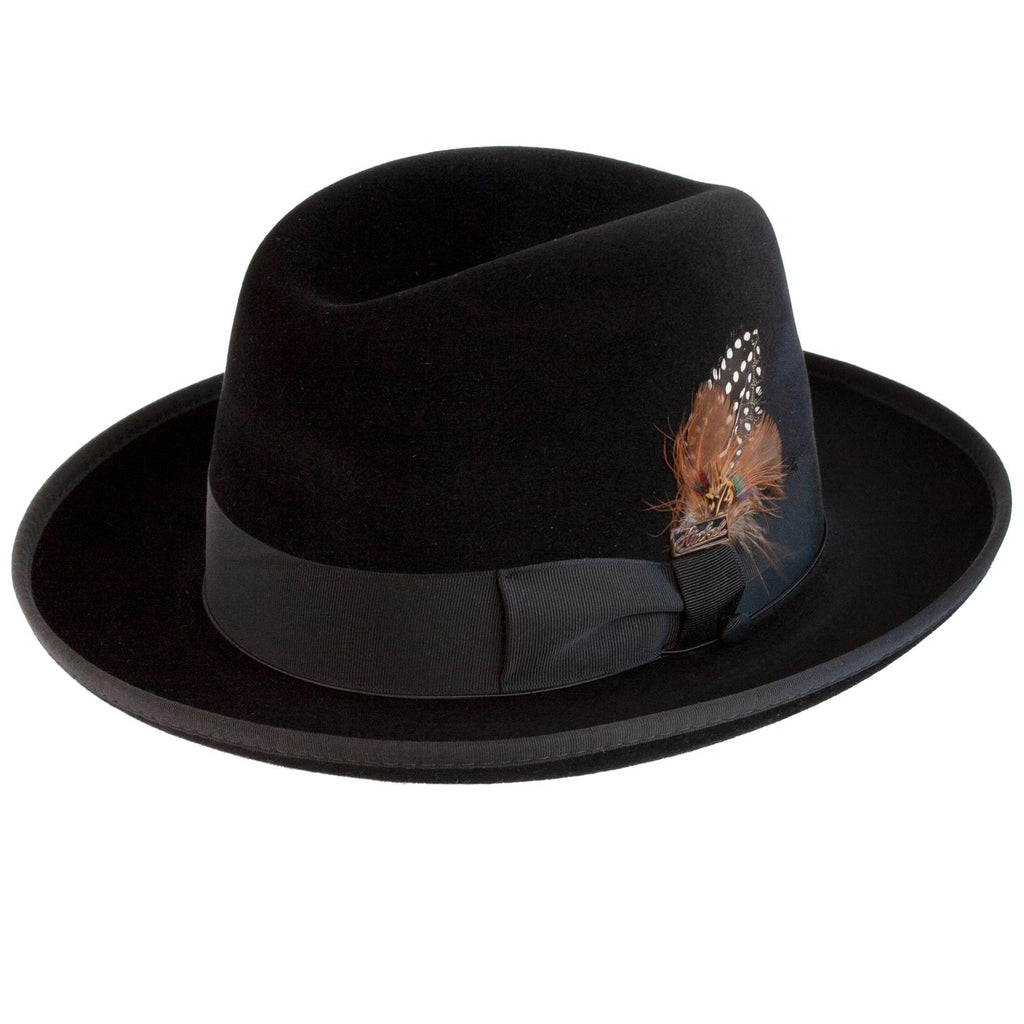 Selentino Velour Homburg BLACK