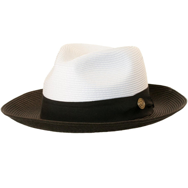 ce934569cace Salvatore Two-Tone Fedora by Bruno Capelo