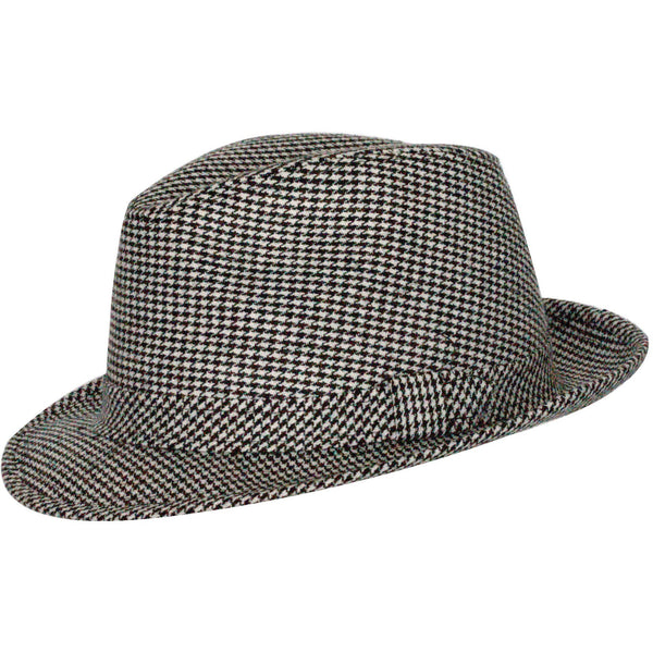 Bear Bryant Houndstooth Fedora by Levine