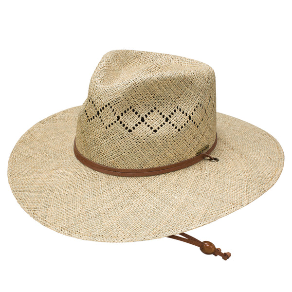 Terrace Straw Hat by Stetson