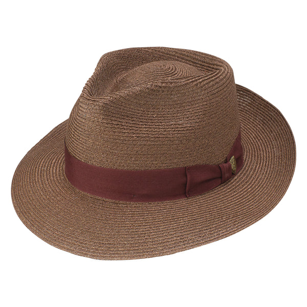 Cornell Hemp Fedora Hat by Dobbs