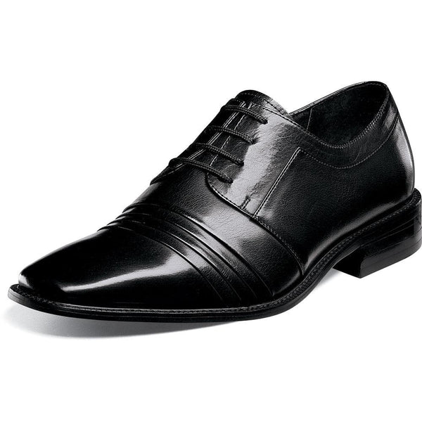 Raynor Cap Toe Oxford by Stacy Adams Black / 7, Shoes - STACYADAMS, Levine Hat Co. - 1