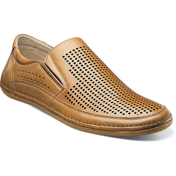 Northshore moc toe slip-on by Stacy Adams NATURAL / 7, Shoes - STACYADAMS, Levine Hat Co. - 1
