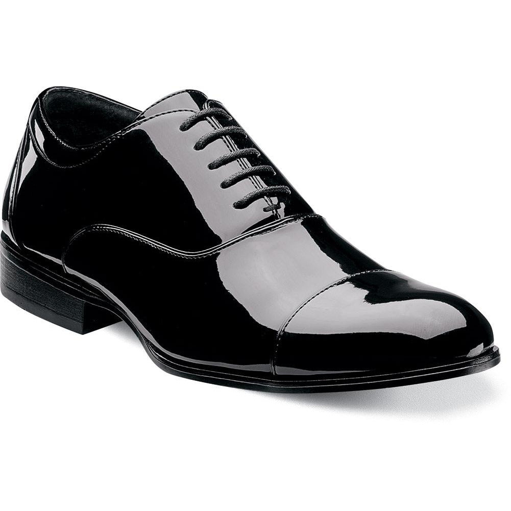 Gala Cap Toe Oxford by Stacy Adams BLACK / 6, Shoes - STACYADAMS, Levine Hat Co. - 4
