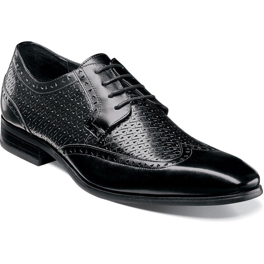 Melville Wingtip Oxford BLACK / 7, Shoes - STACYADAMS, Levine Hat Co. - 3