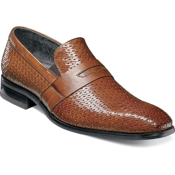 Marcellus Penny Loafer by Stacy Adams COGNAC / 9, Shoes - Levine Hat Co., Levine Hat Co. - 1