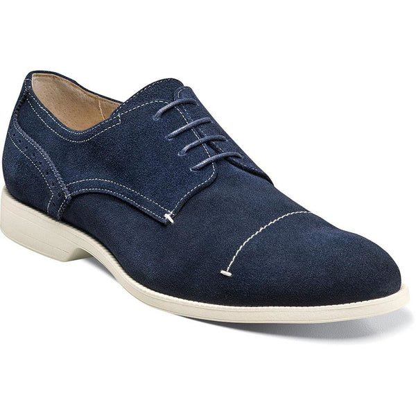 Wilcox Cap Toe Stitch Oxford by Stacy Adams NAVY / 7, Shoes - STACYADAMS, Levine Hat Co. - 1