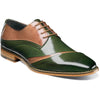 Stacy Adams Talmadge Folded Vamp Oxford DK GREEN