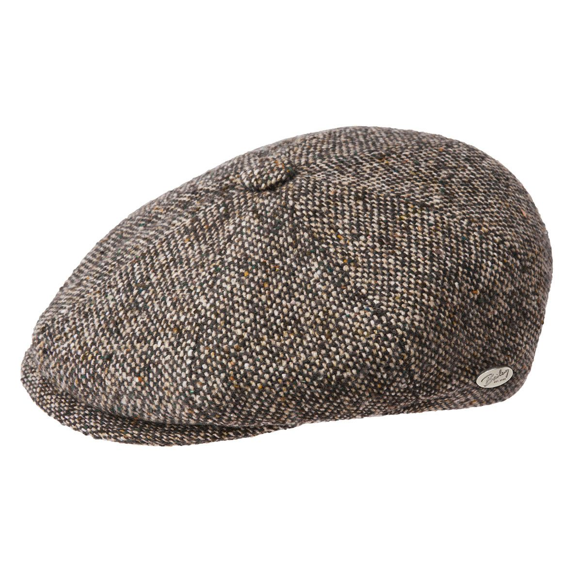 7bbe9b3a8fe Galvin Tweed 8-panel Cap by Bailey – Levine Hat Co.