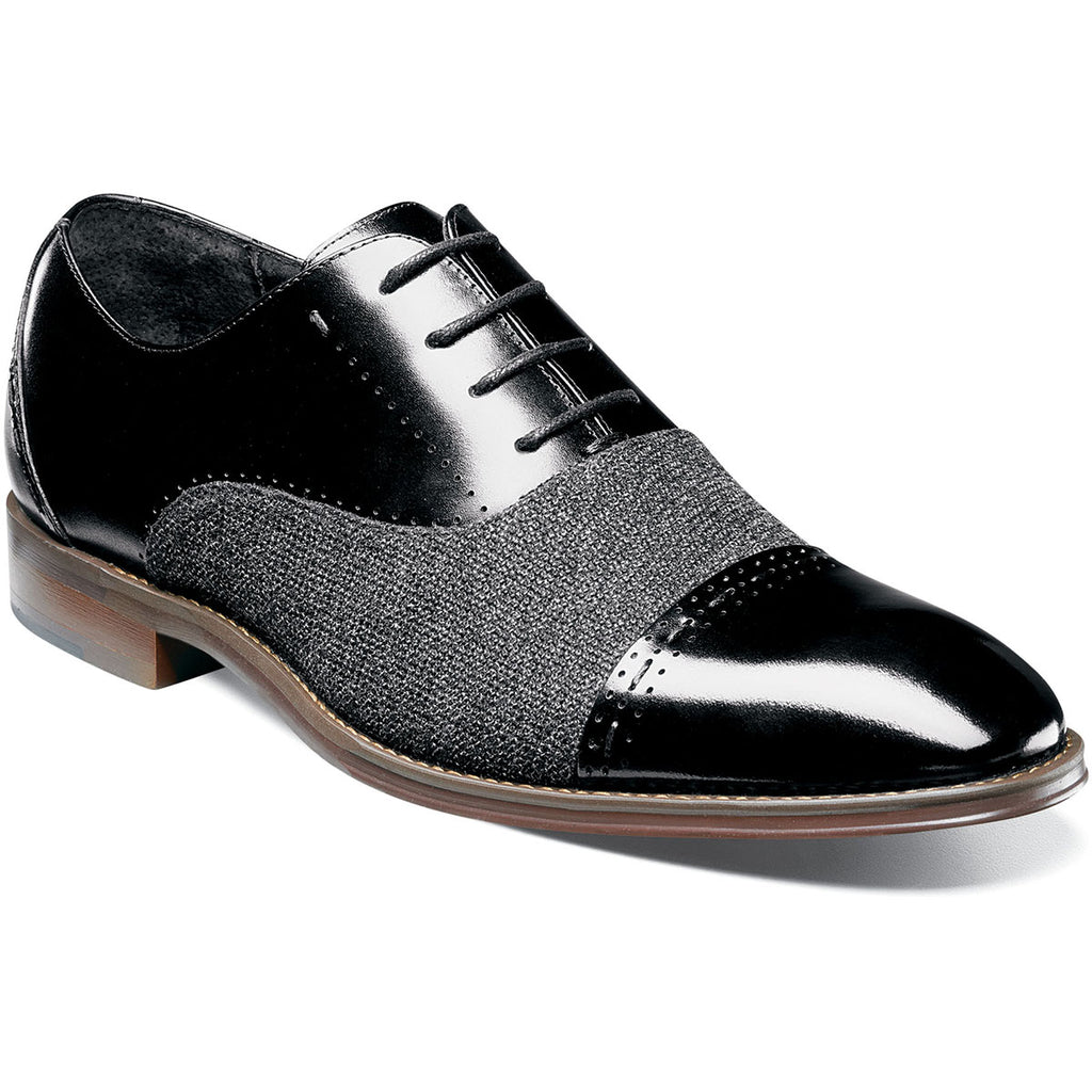 Stacy Adams Barrington Cap Toe Oxford BLACK