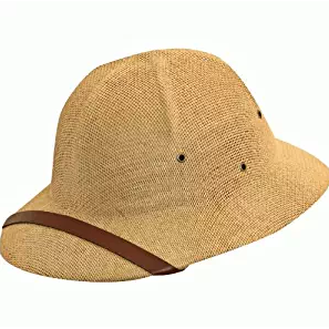 Straw Pith Helmet by Dorfman Pacific