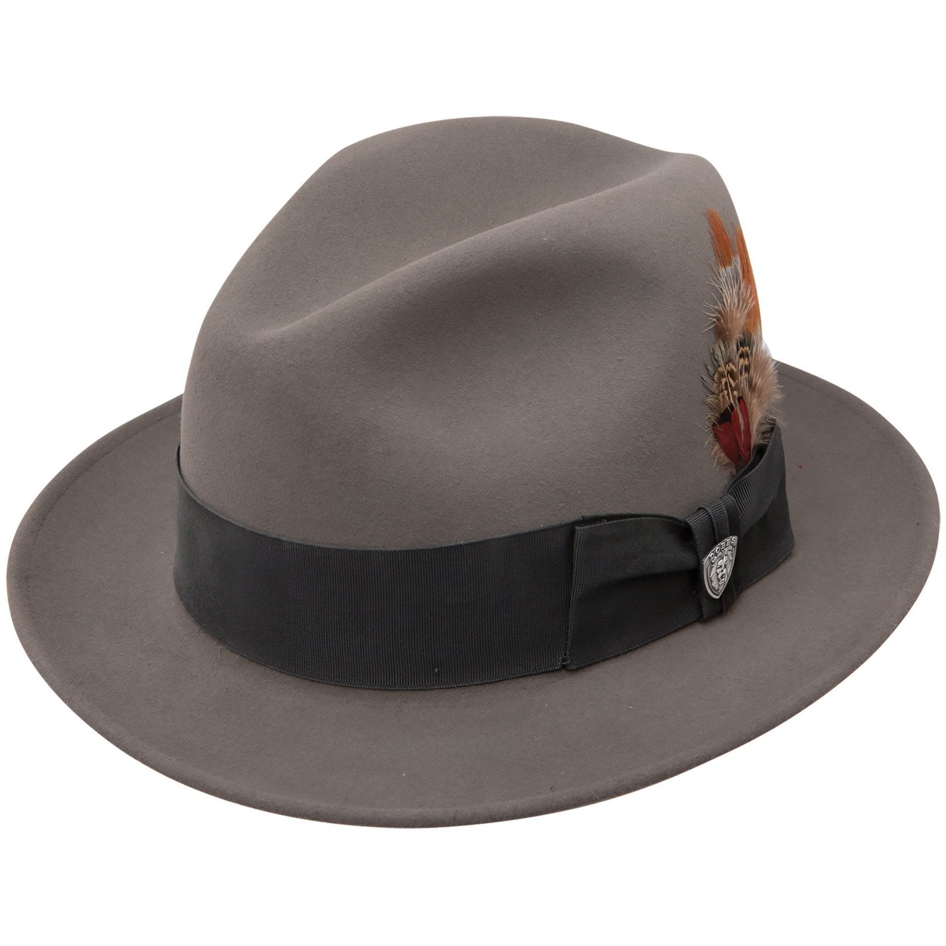 b11cdb420db49 Dayton Fur Felt Fedora by Dobbs – Levine Hat Co.
