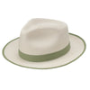 Thumbs Up Two-Tone Fedora by Dobbs