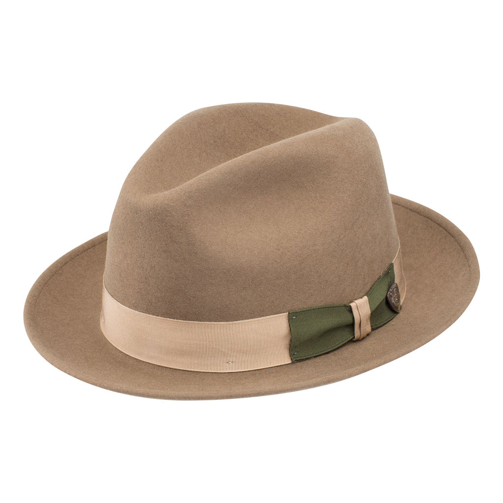Dobbs Antigua Wool Center Dent Fedora